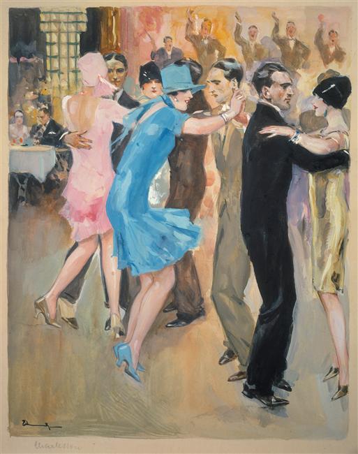 Les Plaisirs de la danse, Ehrenberger Lutz,Allemagne, Berlin, Kunstbibliothek