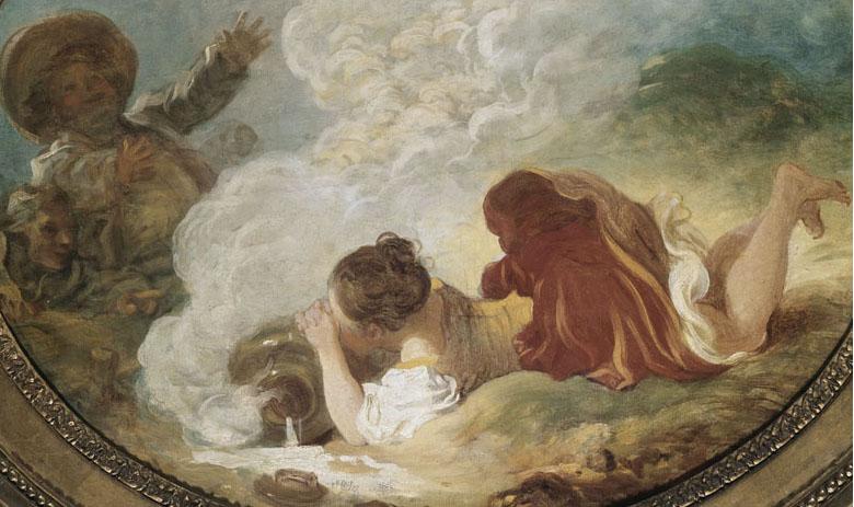 Perrette et le pot au lait, Jean-Honoré Fragonard, musée Cognacq-Jay