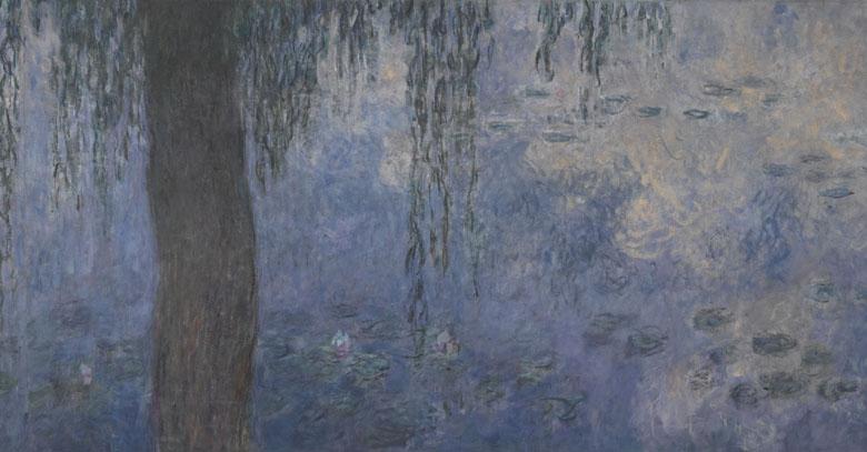 Les Nymphéas : Le Matin aux Saules, Claude Monet, musée de l'Orangerie, (C) RMN-Grand Palais (musée de l'Orangerie) / Hervé Lewandowski