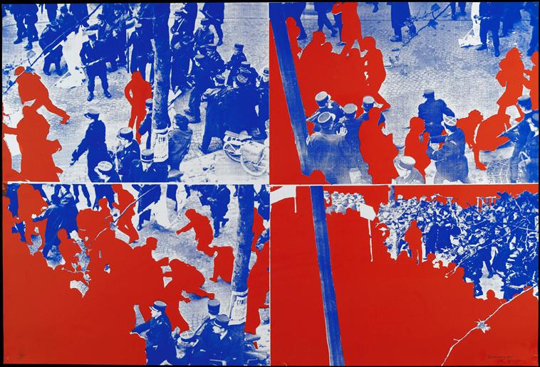 """Album \""""Le Rouge\"""" Gérard Fromanger"""