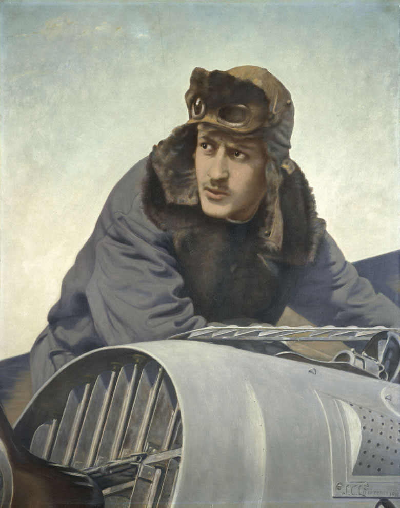 Portrait posthume de Guynemer, J. Cousin Lawrence