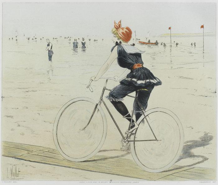 Bicyclette, Louis Vallet, Compiègne, musée de la voiture