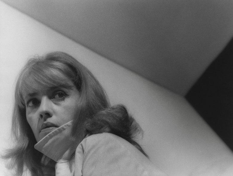 """Jeanne Moreau, \""""Le Procès\"""" (Orson Welles, 1962), Roger Corbeau, Charenton-le-Pont, Médiathèque de l'Architecture et du Patrimoine"""