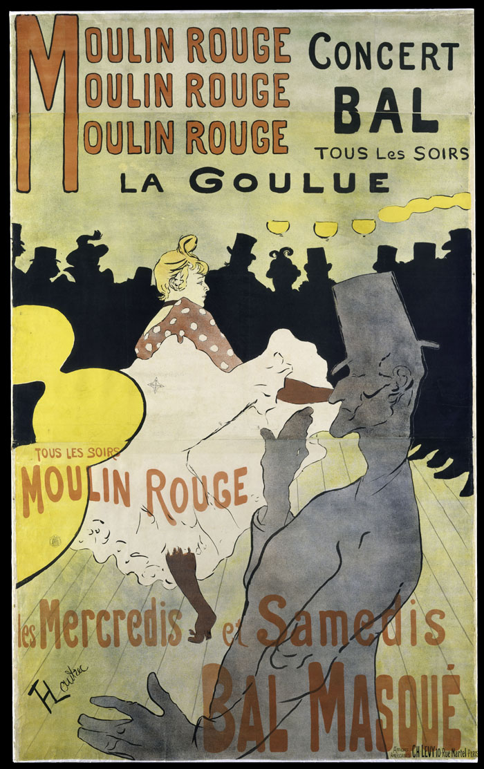 Moulin Rouge : la Goulue, Henri de Toulouse-Lautrec