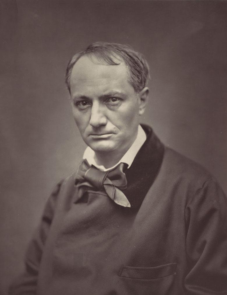 Charles Baudelaire vers 1863, Etienne Carjat, The Metropolitan Museum of Art