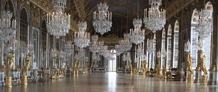 La Galerie des glaces, Château de Versailles