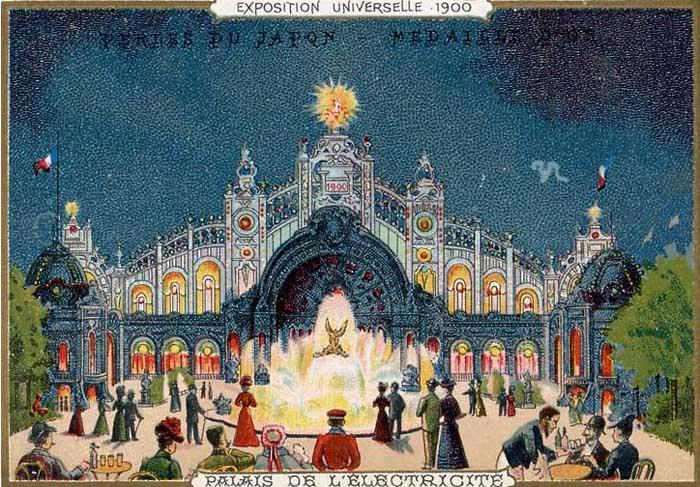 Exposition Universelle 1900 - Palais de l'Electricité