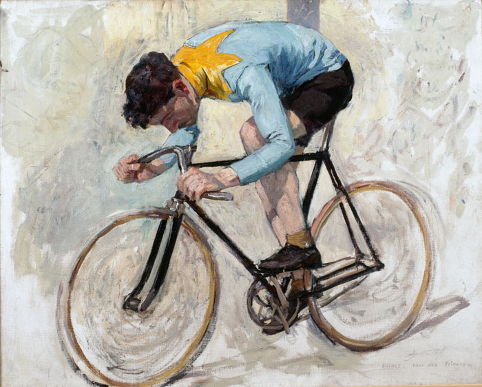 Cycliste Jacquelin, Lucien-Hector Jonas, Roubaix, La Piscine