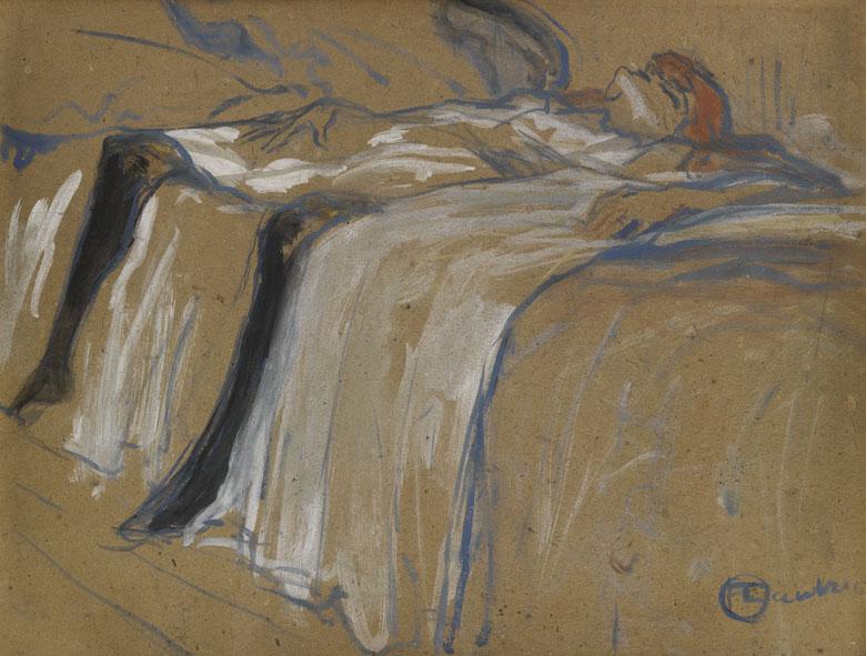 Seule, Henri de Toulouse-Lautrec, 1896