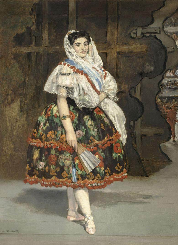Lola de Valence, Edouard Manet, musée d'Orsay