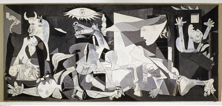 Guernica, Pablo Picasso, Espagne, Madrid, Museo Nacional Centro de Arte Reina Sofia