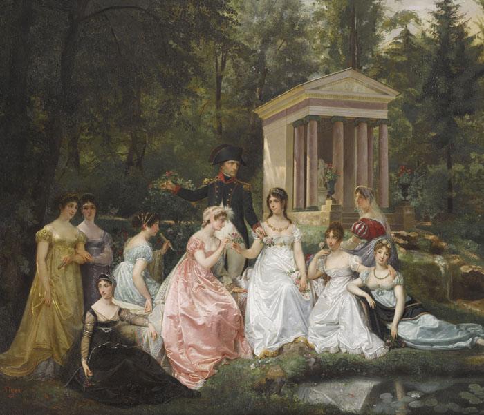 La Rose de Malmaison, Hector Viger