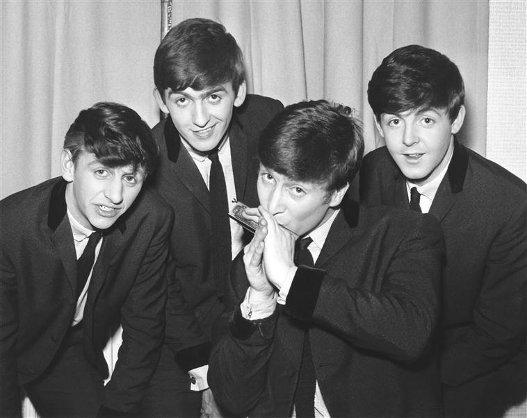 Les Beatles en coulisses à la BBC Old Paris Cinema, Hammond Harry, Royaume-Uni, Londres, Victoria and Albert Museum