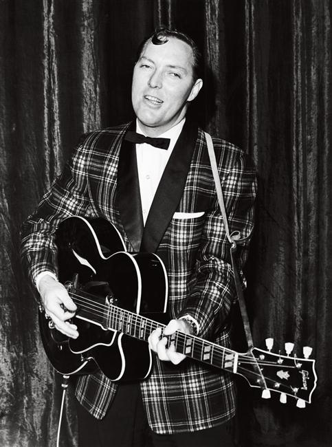 Bill Haley (1925-81) au Dominion