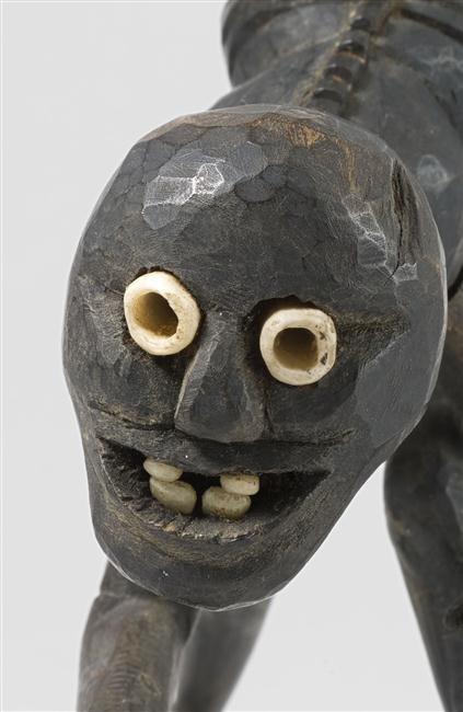 Figurine représentant un quadrupède à tête anthropomorphe - musée du Quai Branly - Jacques Chirac