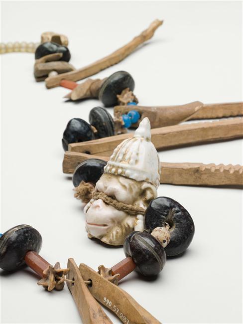 Collier de sorcier, musée du quai Branly - Jacques Chirac