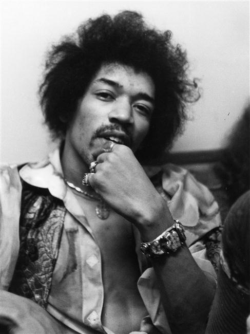 Jimi Hendrix, Timpe Felicitas, Allemagne, Munich, Bayerische Staatsbibliothek, Abteilung Karten und Bilder