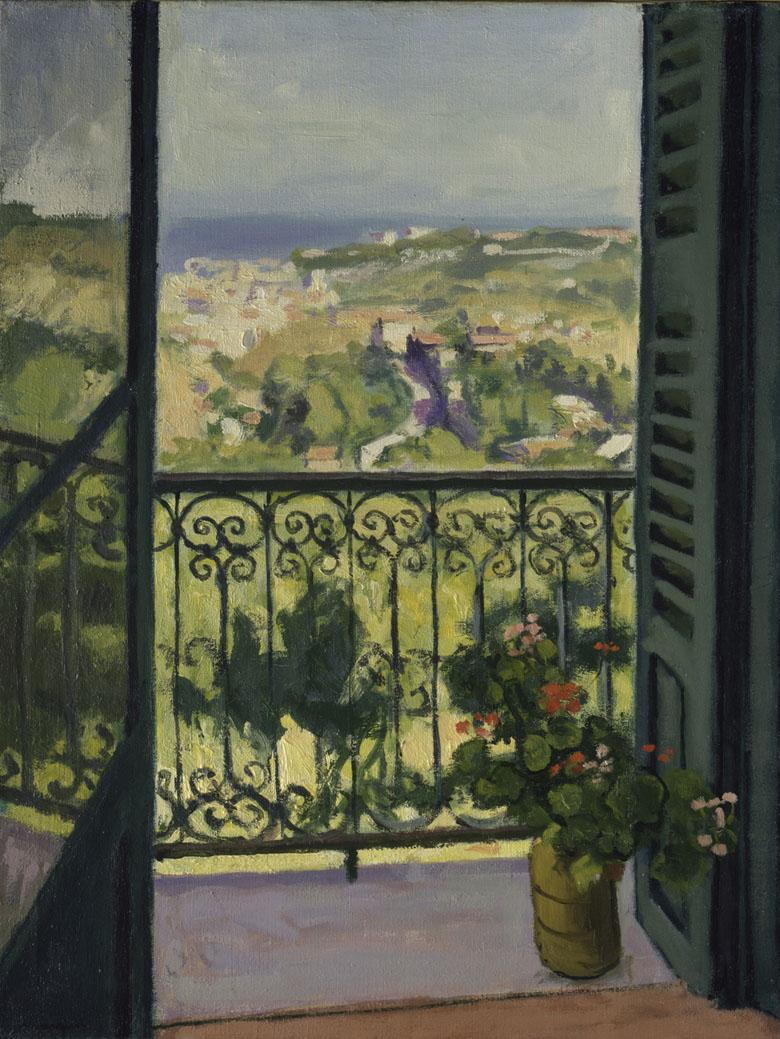 Vue d'un balcon, Albert Marquet, New-York (NY), The Metropolitan Museum of Art