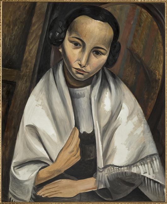 Portrait de jeune fille - Derain André