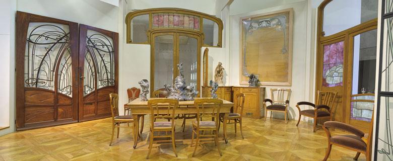 Boiseries et mobilier de l'hôtel Aubecq, Victor Horta, musée d'Orsay