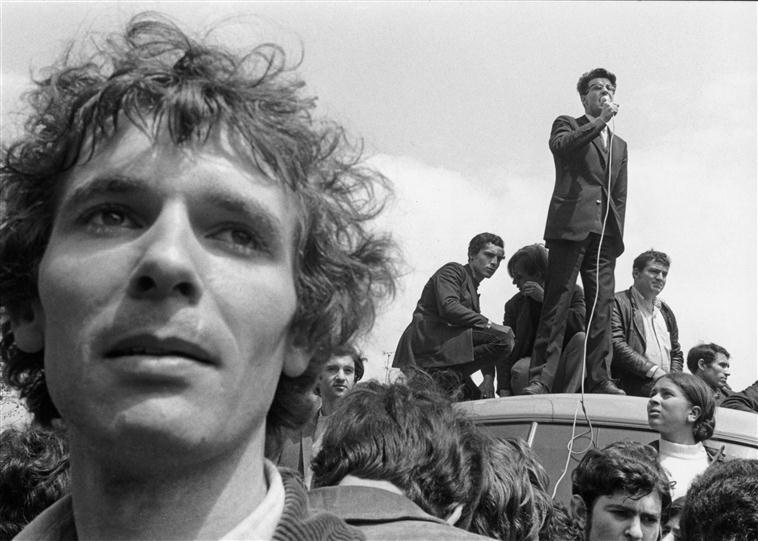 Alain Krivine (1941-) photographié par Angelika Platen
