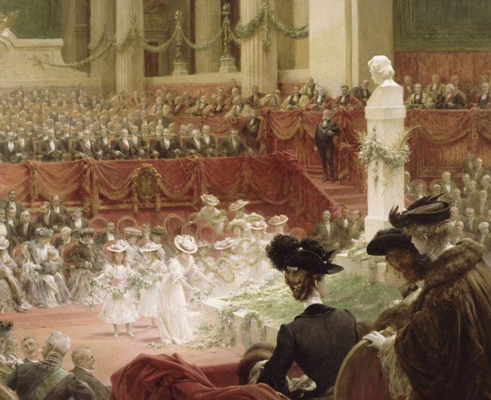 Célébration au Panthéon du centenaire de la naissance de Victor Hugo, Théobald Chartran