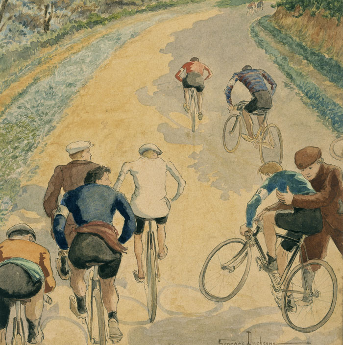 Course cycliste, Georges Duchesne