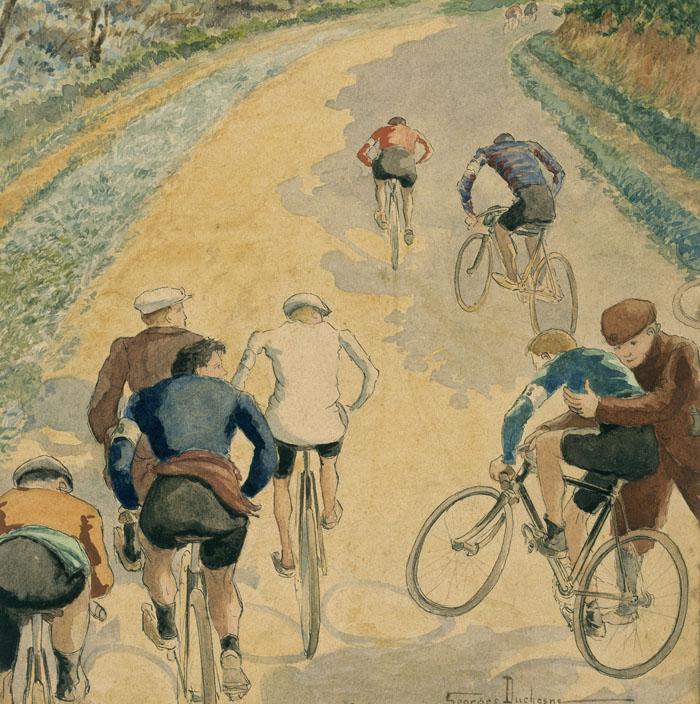 Course cycliste, Georges Duchesne