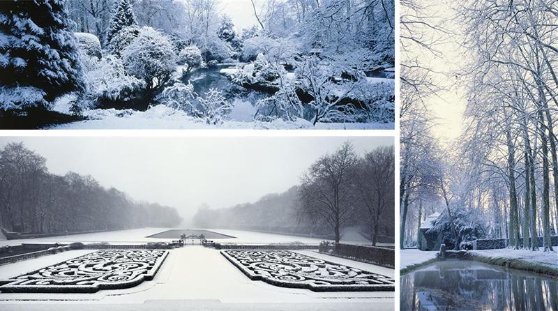 Le parc du château de Courances (Essonne)