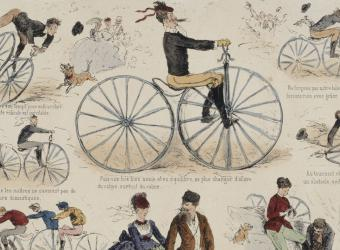 Did you know the bicycle is only 200 years old?