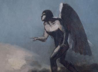 L'homme ailé, Odilon Redon, Bordeaux, musée des Beaux-Arts