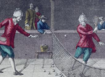 Vue d'un jeu de paume, Paris, musée Carnavalet