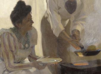 Les Crêpes Alfred de Richemont (1857-1911). Palais des Beaux-Arts de Lille