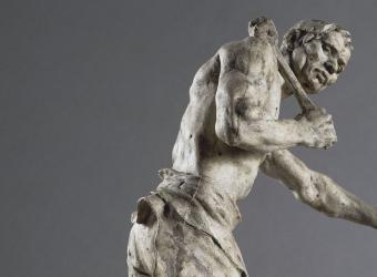 Le Forgeron, Aimé-Jules Dalou, 1886, Paris, musée d'Orsay