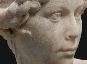 Nymphe, Henri-Louis Cordier, Nice, musée des Beaux-Arts, Dépôt du Musée d'orsay