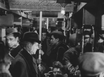 Les Portes de la nuit de Marcel Carné (1946), Raymond Voinquel, Charenton-le-Pont, Médiathèque de l'Architecture et du Patrimoine