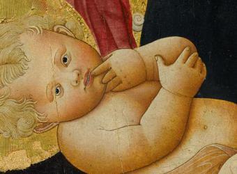 La Vierge et l'Enfant avec Saint Jean-Baptiste et deux anges