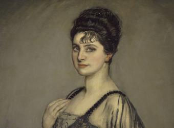 Portrait de madame Louis Rosenau, née Hélène Merfeld, Antonio de La Gandara, Paris, Petit Palais, musée des Beaux-Arts de la Ville de Paris
