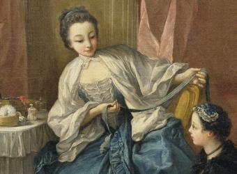 La Modiste (La marchande des modes; Le matin), François Boucher, Wallace Collection
