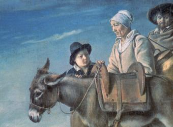 La famille de la crémière, Le Nain Louis, Saint-Petersbourg, musée de l'Ermitage