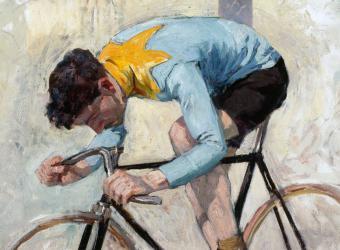 Cycliste Jacquelin; Lucien Jonas, Roubaix, La Piscine, musée d'Art et d'Industrie André Diligent
