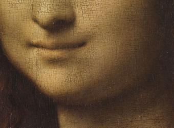 La Joconde, portrait de Monna Lisa (détail), Léonard de Vinci, musée du Louvre