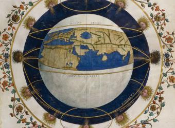 Le monde habité sur la sphère terrestre