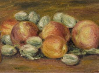La Recette de Marie : crumble pommes-rhubarbe