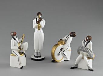 L'Orchestre de jazz, Limoges, musée national Adrien Dubouché