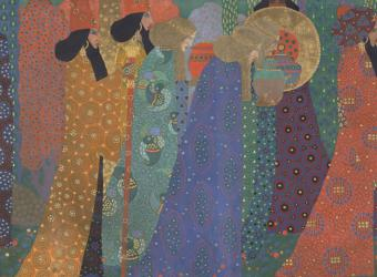Le Mille e una notte, Vittorio Zecchin, musée d'Orsay