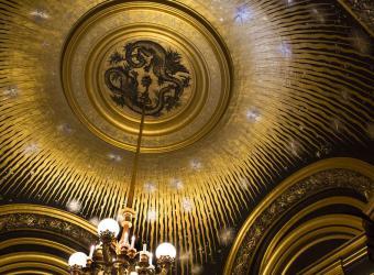 Opéra Garnier : rotonde du Soleil, Raphaël Gaillarde, Paris, collection Raphaël Gaillarde