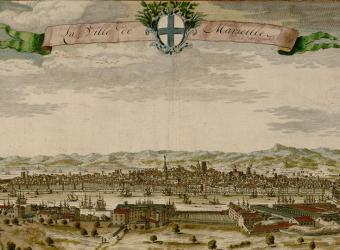 La ville de Marseille de Nicolas Visscher, Musée d'Histoire de Marseille