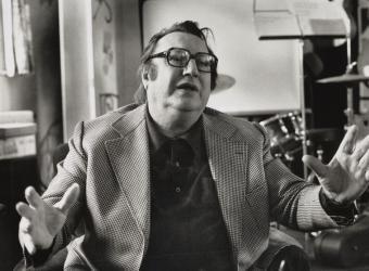 Raymond Devos 1979, Michel Delaborde, Médiathèque de l'Architecture et du Patrimoine