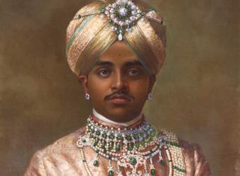 Portrait Krishna Raja Wadiyar IV, Royaume-Uni, Londres, Victoria and Albert Museum